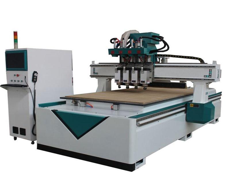 Pneumatic Tool Change Wood CNC Machine