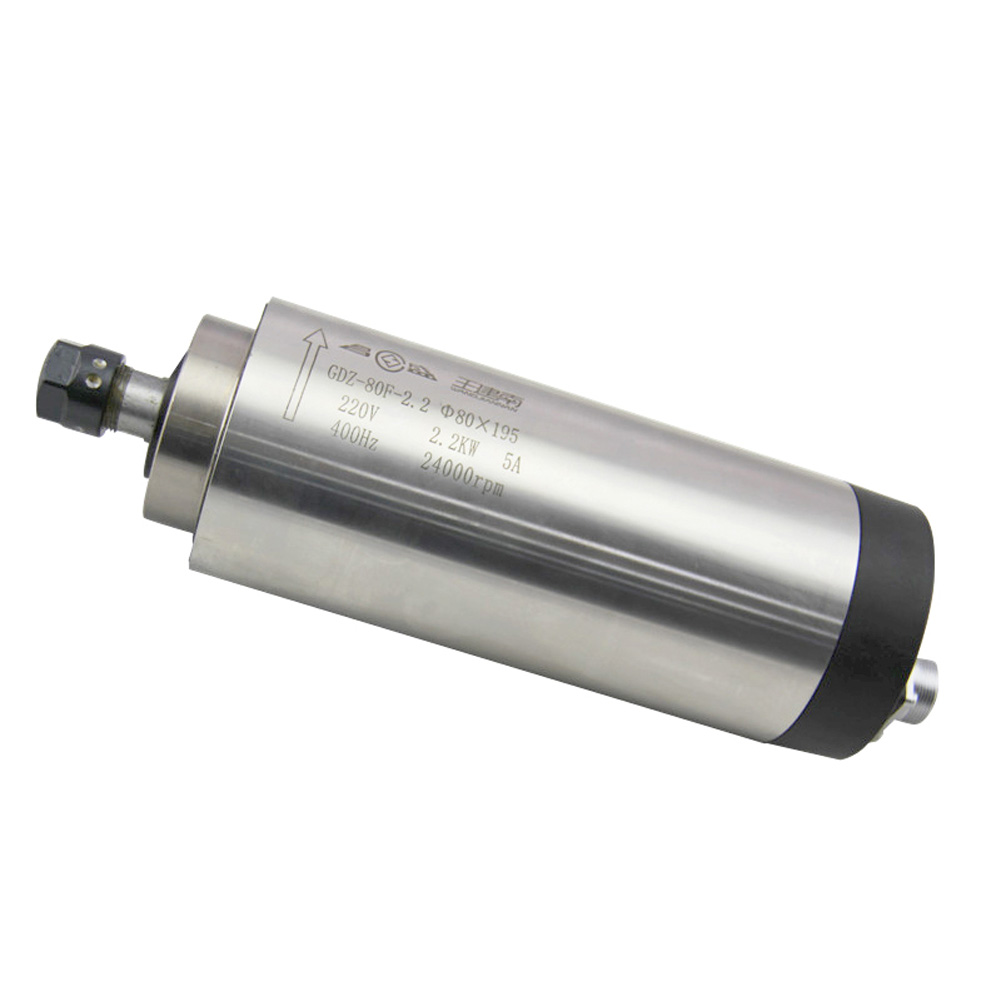 2.2KW Round Air Cooling Spindle